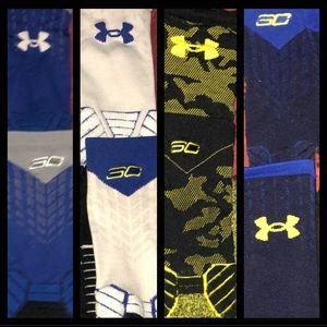 NBA Under Armour 🏀Stephen Curry Socks x5 🏀